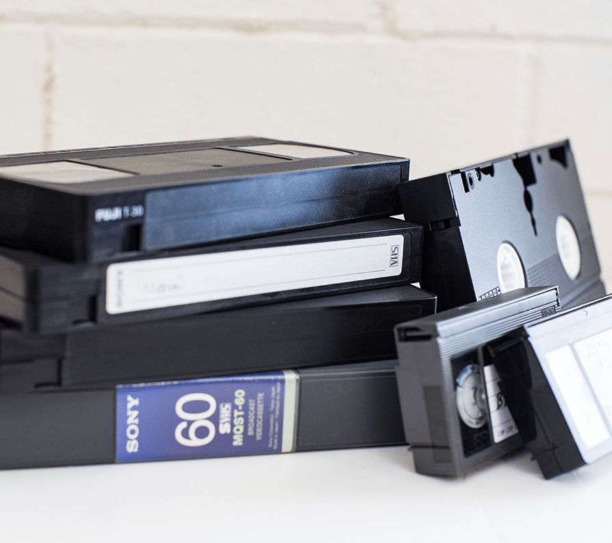 Video Transfer VHS Tapes
